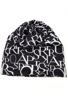 Lalang Beanie Hat Turban Black