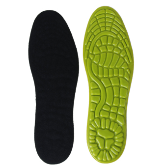 Soft Gel Insoles Massaging Cushions for Casual Athletic Shoes Women's UK 3.5-6 - Intl