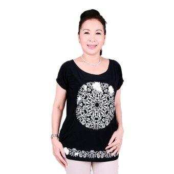 Áo kiểu nữ trung niên Ugether UPAR15 (Xanh Đen)