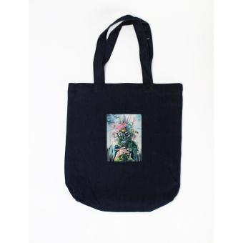 Túi tote in hình The last flowers