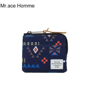 Ví Mini Mr.ace Homme M16001Q01 / Xanh đen