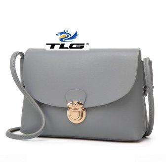 Túi nữ thời trang phong cách Hàn Quốc Đồ Da Thành Long TLG 208111 3(xám)