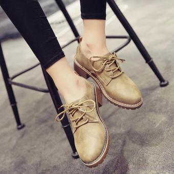 Giày nữ Oxford Rozalo RWG7118K-Kaki