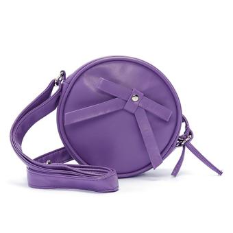 Túi nữ mini tròn Happy F MS.128.3 (Tím)