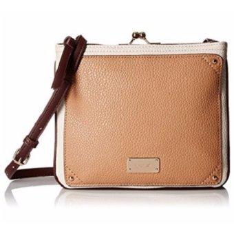 Túi đeo chéo nữ màu nâu Nine West Jaya Cross-Body Bag (Mỹ)