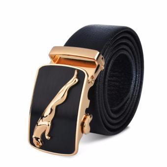 Dây lưng nam thời trang Phong cách Mạnh Mẽ ROT017 (Báo vàng) - 3711759