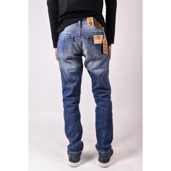 Quần jeans nam Slim Fit XK