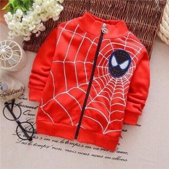 Áo khoác spiderman cho bé trai: