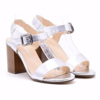 Sandal cao gót Evashoes Eva0668 Trắng