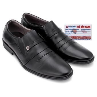 HL7179 - Giày tăng chiều cao Huy Hoàng màu đen