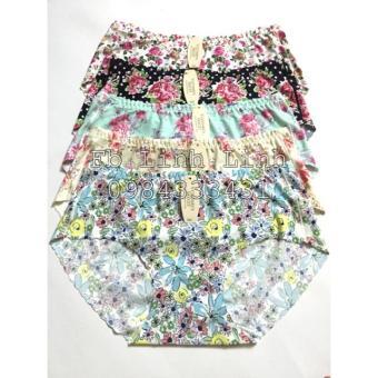 Combo 5 quần lót Vic hoa nhí size L