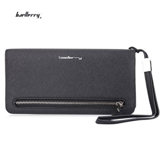 Baellerry Wrist Wallet Phone Pocket(Black) - intl