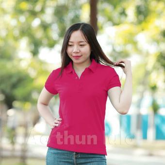 Áo thun nữ cổ trụ Lulo (Hồng)