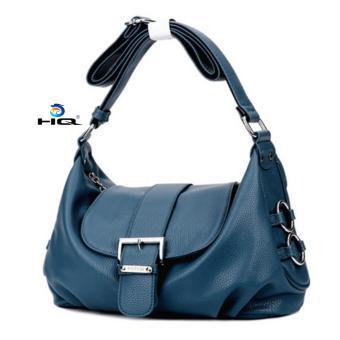 Túi nữ đeo chéo da thật cao cấp HQ 8TU19 1(xanh)