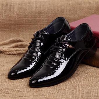 Giày lười nam công sở da bóng