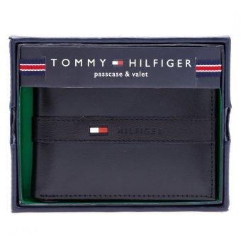 Ví da Tommy Hilfiger Mens Ranger Passcase (Đen)