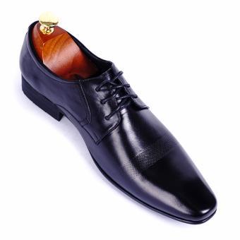 Giày tây nam da thật cao cấp Da Giày Việt Nam - VNLLT76-10VCT42D (Đen)