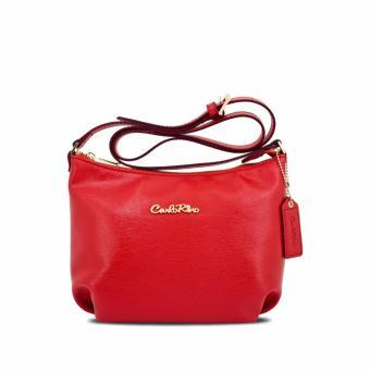 Bộ 3 túi đeo chéo và ví Carlo Rino 0303355-001-04 (Đỏ)