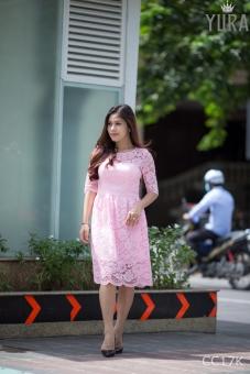 Đầm Ren Xòe