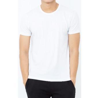 Áo lót nam IMVMAN Tshirt cổ tròn cotton cao cấp (Trắng)