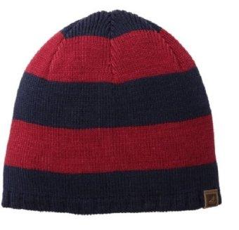 Mũ (nón) len nam sọc Xanh đỏ Sperry Top-Sider Men's Breton Striped Beanie (Mỹ)