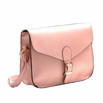 Womens Fashion Soft PU Leather Top-handle Bag Removable Tote Handbag Bag Cross Body Shoulder Bags - intl