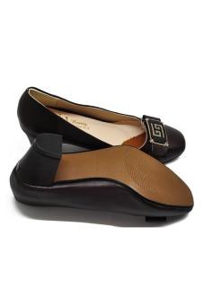 Giày da nữ gót vuông 5p 7368N