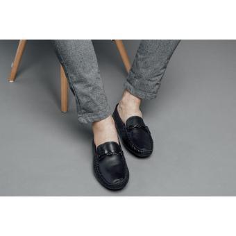 Giày lười nam Laforce đẹp da trơn thắt nơ GNLAMS08205-D