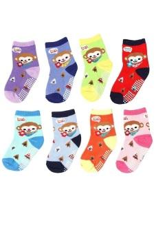 Bộ 8 đôi tất vớ trẻ em Từ 1-4 tuổi bé gái SoYoung 8SOCKS 003 1T4 GIRL