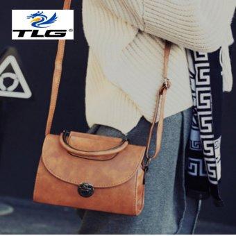 Túi đeo chéo phong cách Hàn Quốc Đồ Da Thành Long TLG 208097 1(nâu nhạt)