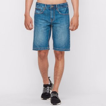 Quần jean short nam THE BLUES BJMGT-2011-242S Med