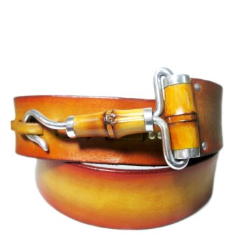 Dây Nịt da bò kết hợp với tre và hợp kim nhôm