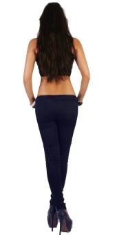 Quần dài nữ SoYoung WM SKINNY jeans 002 XH TIM THAN (Xanh tím than)