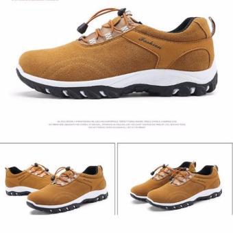 Giày thể thao nam màu da bò 43 -AL