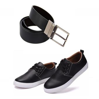 Bộ giày da và thắt lưng phong cách thời trang DT2117