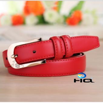 Thắt lưng nữ da cao cấp HQ 8TL89 5(đỏ)