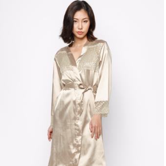 Áo khoác ngủ nữ K804FVK (Vàng)
