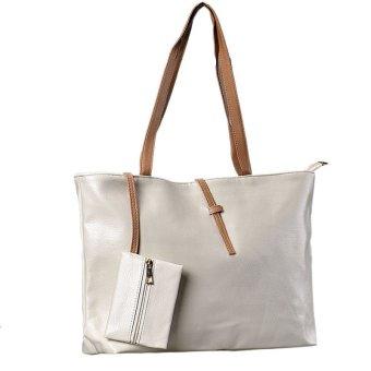 Women Fashion Famous Brand Casual Shoulder Bags White
