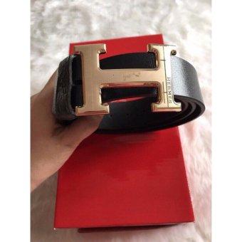 Thắt lưng nam dây đúc cao cấp LyLyFashion (đen)
