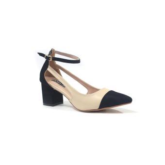 Giày gót vuông 5 phân ANA Le