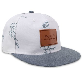 Fashion Unisex Men's Words Snapback Adjustable Baseball Cap Hip Hop Hats - intl