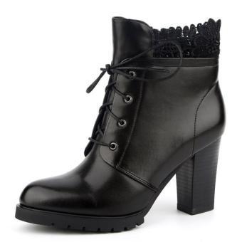 Giầy Boot nữ hiệu Aokang hàng mới 100%. Size 35 mã 16291114535