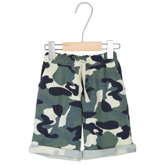 Distinctive Fashion Children Camouflage Printed Shorts with Exquisite Pocket - intl