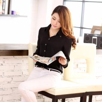 Áo Sơ Mi Nữ Kiểu Hàn Quốc SMN620909BL - Màu Đen