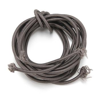 Locking Shoelaces Elastic Shoe Laces Running/Jogging/Triathlon/Sporting/Training dark gray - Intl