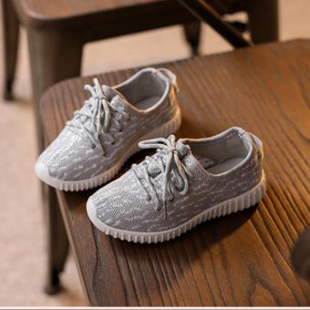 Giày Trẻ Em Siêu Nhẹ Gte1 (Xám)