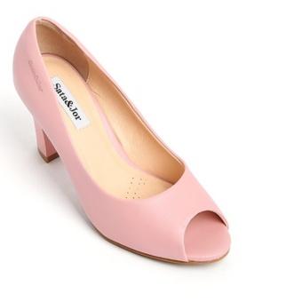 Giày cao gót SJ0019 (Hồng)
