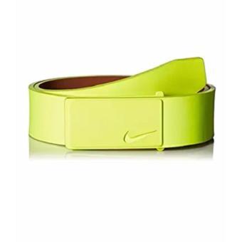 Thắt lưng (nịt) thể thao nam da thật cao cấp Nike Men's Sleek Modern Plaque Belt (Mỹ)