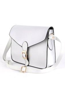 Cyber Women Lady Shoulder Bags Messager Purse Handbag Tote Bag (White)