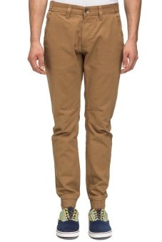 Bellfield Men's Cuff Hem Chino Tan